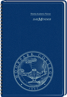 2015 2016 AT A GLANCE Imprinted DayMinder Academic Weekly Planner, Navy