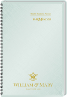 2015 2016 AT A GLANCE Imprinted DayMinder Academic Weekly Planner, Silver