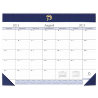 Desk Pad Calendar, Academic Year, 2016 2017
