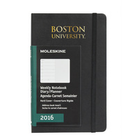 Moleskin 18 Month Planner, Pocket, Black