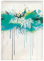 Pierre Belvedere Academic Year Agenda, Drips Teal