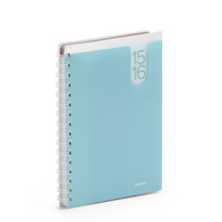 Poppin Pocketbook Planner, Aqua
