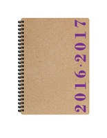Pierre Belvedere Academic Year Wire Agenda, Purple
