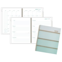 AT A GLANCE Ombre Academic WeeklyMonthly Planner