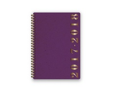 Academic Agenda 201718 Kraft Purple (Exclusive)