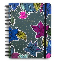 Vera Bradley Medium 17Month Agenda, Falling Flowers