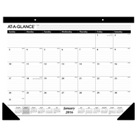 2016 AT A GLANCE Monthly Desk Pad