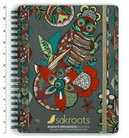 Sakroots Always Organized Agenda Charcoal Spirit Desert