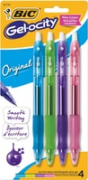 Gelocity Pen 7mm 4pk Fashion Colors