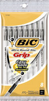 Black Ultra Round Stic Grip 8 Pack