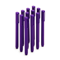 Poppin Purple Signature Ballpoints, Set of 12