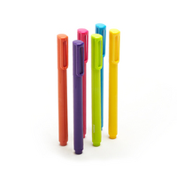 Poppin Assorted Signature Ballpoints, Set of 6