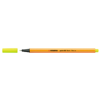 STABILO POINT 88 NEON YELLOW