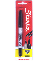 Sharpie Twin Tip Black