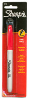 Sharpie Red Fine Line Blister Marker