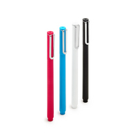 Poppin Assorted Fineliners, Set of 4 (Black, White, Red, Pool)