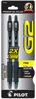 G2 GEL BLACK FINE PEN 2PK