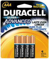 Duracell Ultra Aaa 4 Pack Batteries