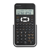 Sharp 2 Line LCD Scientific Calculator
