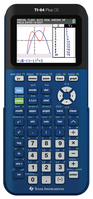 Texas Instruments TI 84 Plus CE Graphing Calculator, Denim