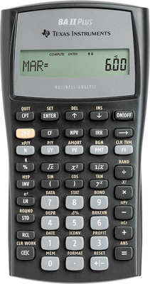 Texas Instrument Ba Ii Plus Business Calculator