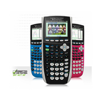 TI 84 Plus C Silver Edition Graphing Calculator, Pink