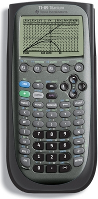 Texas Instrument 89 Titanium Graphing Calculator