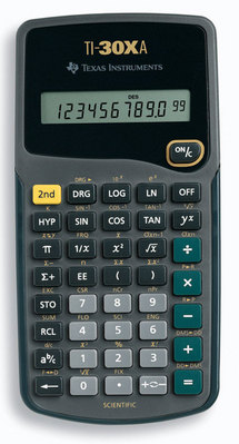 Texas Instrument 30Xa Scientific Calculator