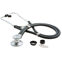 22 in. Black Stethoscope Sprague Scope