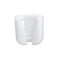 Scope Hip Clip, white