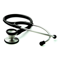 Adscope 602 Traditional Cardiology Stethoscope, Black