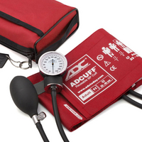 Blood Pressure Aneroid, red