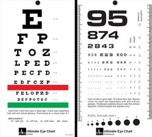 RosenbaumSnellen Pocket Eye Chart