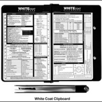 White Coat Medical Clipboard