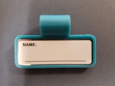 ID Tag Color, Teal