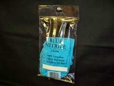 Bag Pack Nitrile Gloves Size Medium