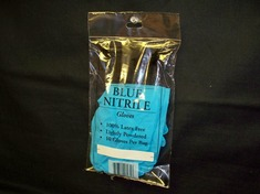 Bag Pack Nitrile Gloves Size Large