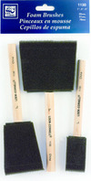 Brush Set 3Pc Foam