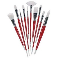 Winsor & Newton University Series Brushes Series 233 Short Handle Rounds 6