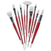 Winsor & Newton University Series Brushes Series 233 Short Handle Rounds 10