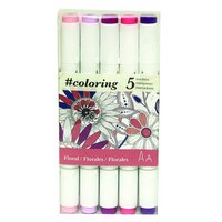 Alcohol Marker, Garden, Set of 5