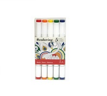Alcohol Marker, Primary, Set of 5