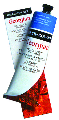 DalerRowney Georgian Oil Colors 225ml Tubes Pthalo Blue