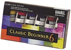 Liquitex Primary 6 Acrylic Color Set Primary 6 Acrylic Set