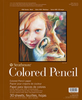 Strathmore Colored Pencil Pad, 400 Series (9 x 12)