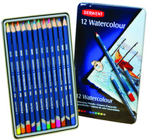 Derwent Watercolour Pencils Sets 24Color Set