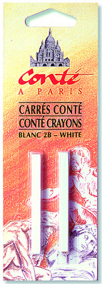 Crayon Sketch 2 Pack White Hb