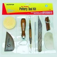 Pottery Tool Kit 8 Piece Bag