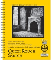 Bee Paper Company 50# Sketch Pad, 100 Sheets, 8 x 10