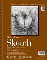 Strathmore Sketch Paper Pad, 400 Series, 50 Sheets (9 x 12)